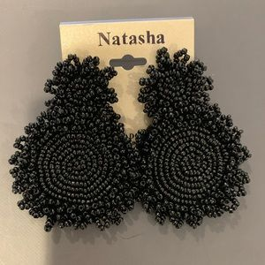 NWT Natasha Seed Bead Earrings